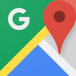 Aplicación Google Maps de navegación GPS