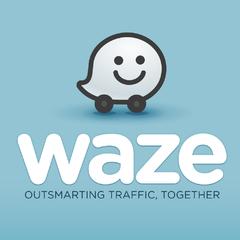 Aplicación navegador GPS Waze para moto