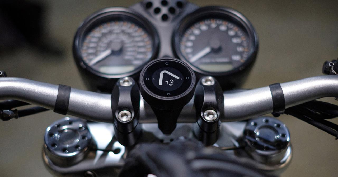 Beeline Moto, el navegador GPS minimalista y asequible