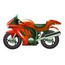 Moto deportiva, posturas de conducción en moto