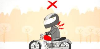 Postura correcta en moto