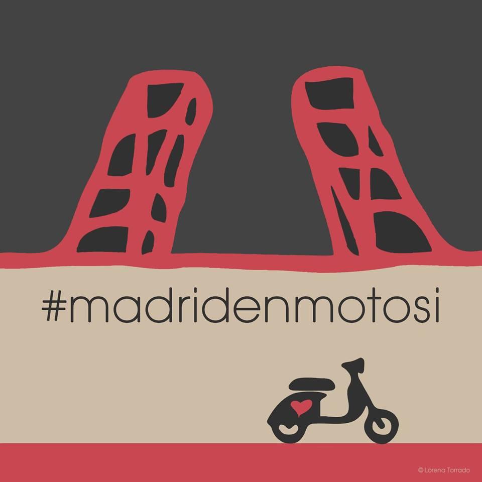 Manifestación Madrid en Moto Sí