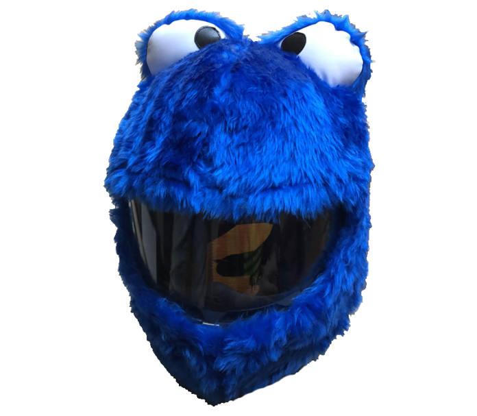 Funda casco monstruo de las galletas