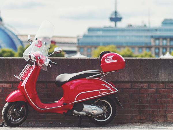 Top Case para scooter para llevar equipaje en moto