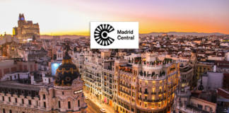 Madrid Central en moto