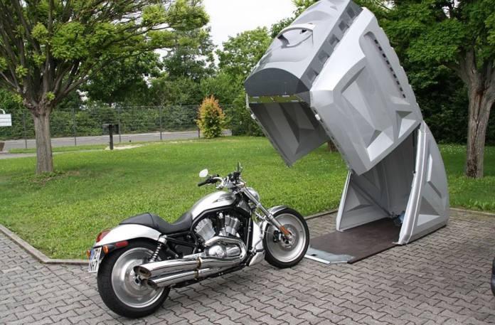 Mini garajes para moto masmoto·net