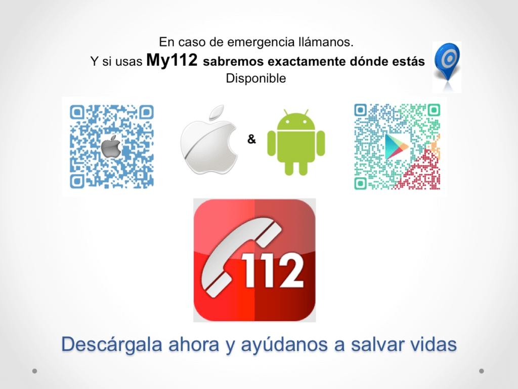Aplicación para móviles My112