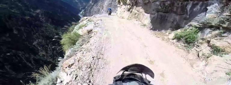 Los caminos más peligrosos del mundo para ir en moto