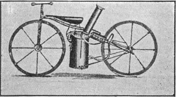 Velocípedo de vapor Roper