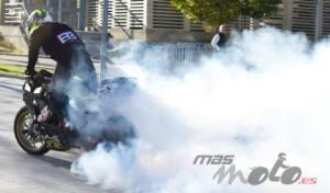 Ángel V. Campos Stunt en Motorama Madrid 2020
