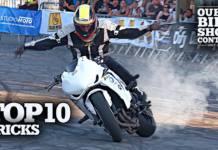 Los mejores trucos de stunt en Ouest Bike Show 2019