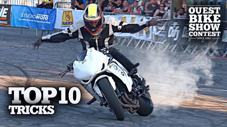 VÍDEO | Los 10 mejores trucos de stunts en el Ouest Bike Show 2019