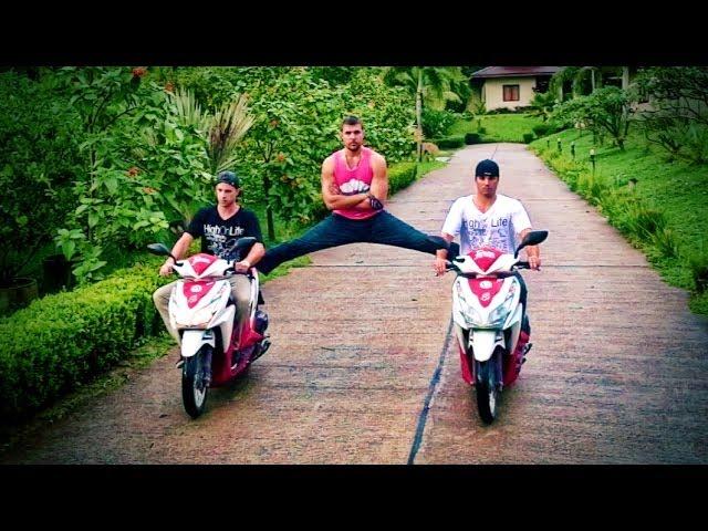VÍDEO | Parodia del anuncio de Jean-Claude Van Damme con Volvo con scooters
